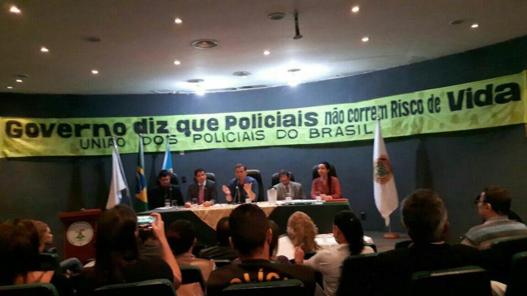 UNIÃO DOS POLICIAIS DO BRASIL CONTRA A PEC 287/16