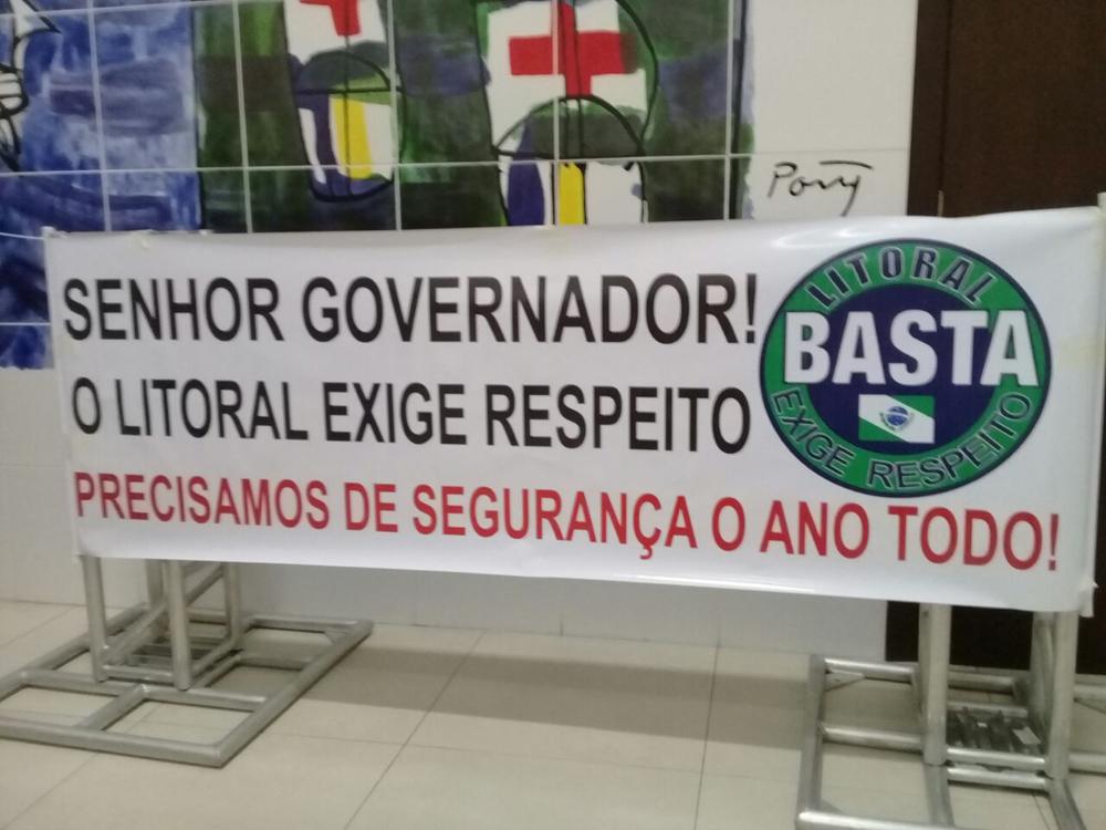População cobra mais segurança para o Litoral do Paraná