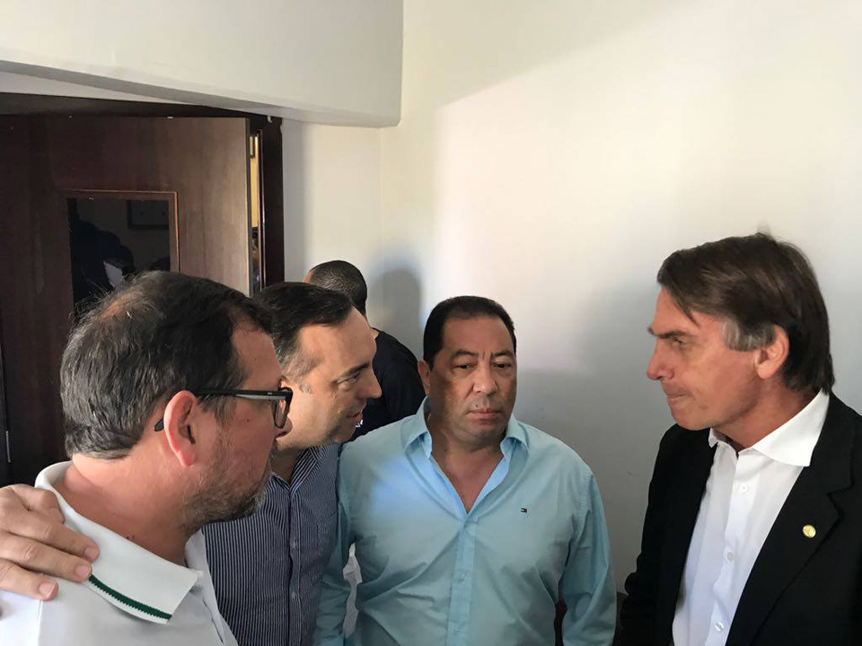 Sinclapol esteve com Francischini e Bolsonaro