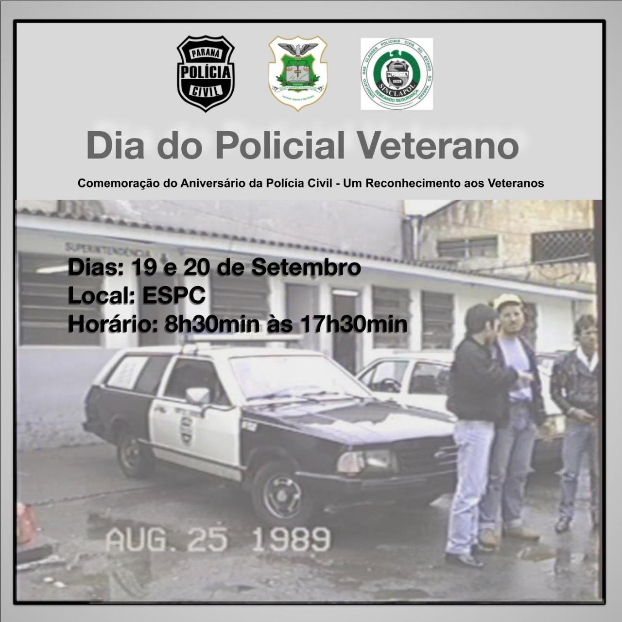 Dia do Policial Veterano – Alteração de data