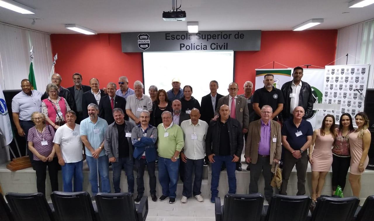 Comemoração ao dia do Policial Civil Veterano