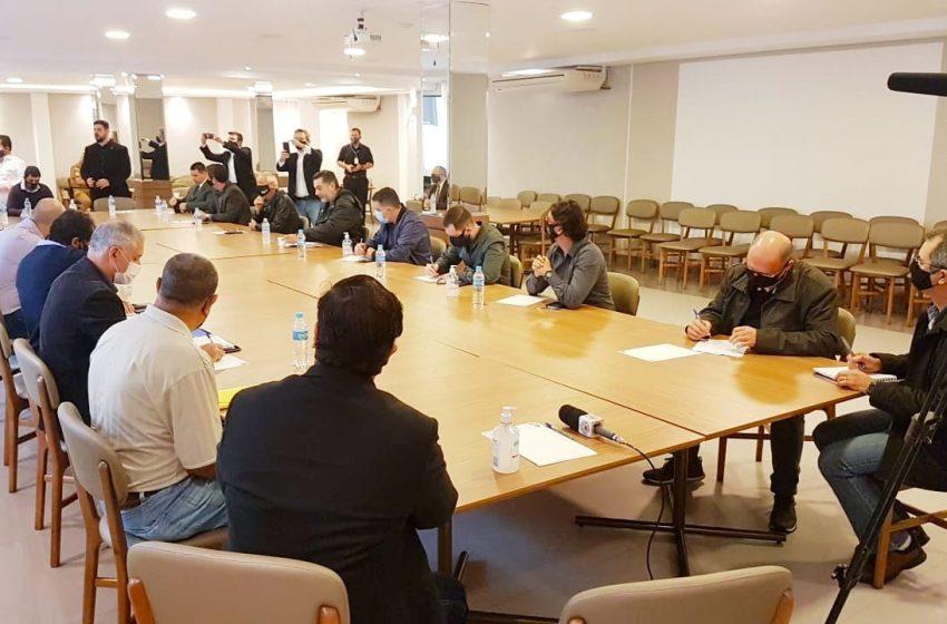 Reunião da Comissão de Representantes das Entidades Sindicais