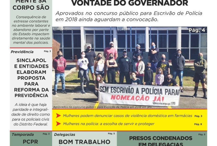 Jornal do SINCLAPOL – Edição 3