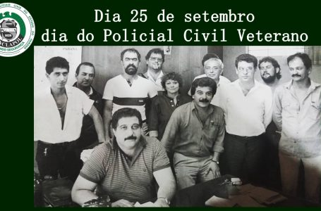 Dia do Policial Civil Veterano