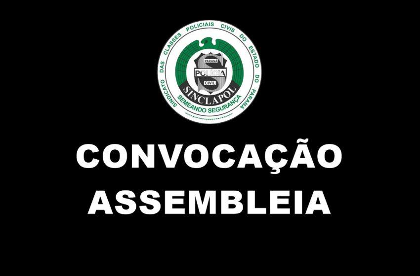 CONVOCAÇÃO ASSEMBLEIA