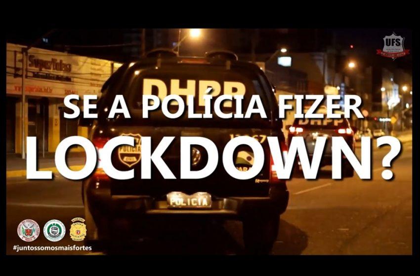 A POLÍCIA NÃO PÁRA!!!
