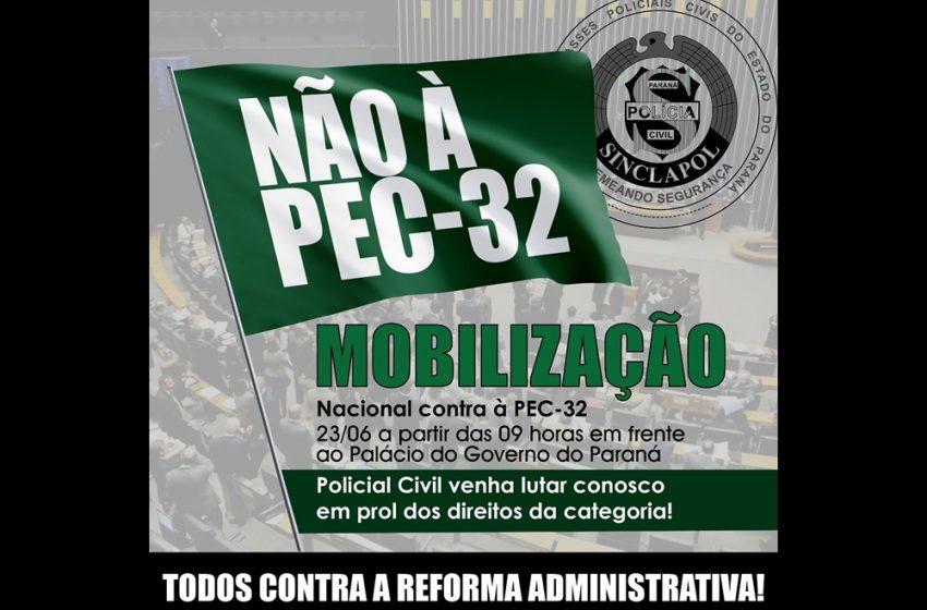 Todos contra a reforma administrativa.