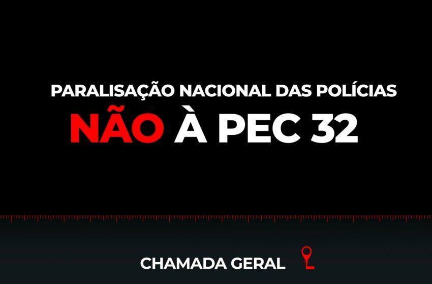 NÃO À PEC 32