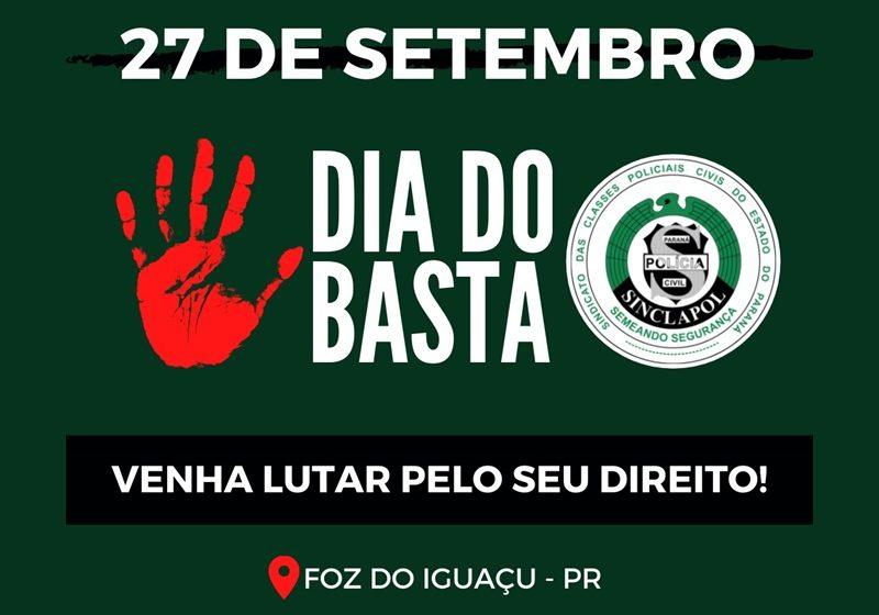 DIA DO BASTA!